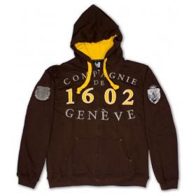 Hoodies membres Compagnie 1602 - marron unisexe