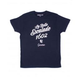 T-shirt manches courtes - marine unisexe